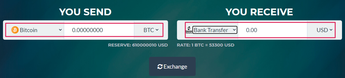 sell bitcoin receive bank wire rand4dollar